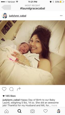 BabyGirl LG & Mommy