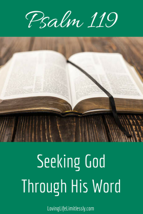 Psalm 119 Bible Study - Seeking God Through His Word